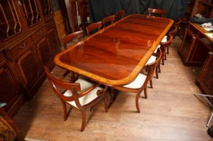 Antique Regency Dining Table