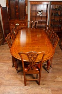 Antique Table and Chairs Victorian Dining Set