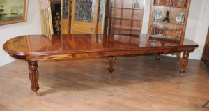 Mahogany Victorian Extending Dining Table