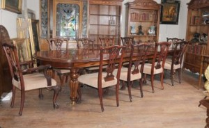 Victorian Dining Room with Chippendale Chairs
