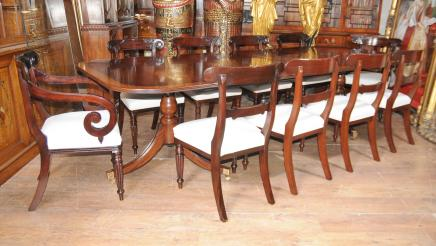 mahogany dining set Antique Dining Room
