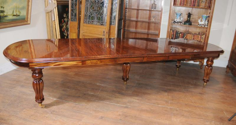 Mahogany Victorian Dining Table