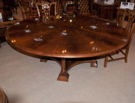 Regency Extending Jupe Round Dining Table Centre Tables