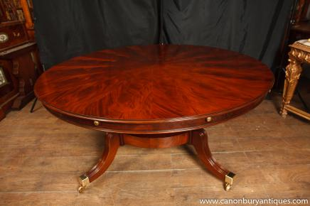 Regency Jupes Table Round Expanding Dining Tables Jupe Furniture