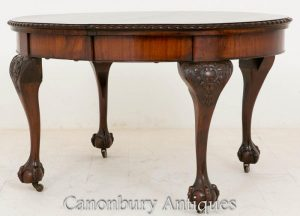 Victorian Mahogany Extending Dining Table 1900